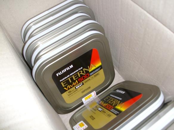 Mura's film stock arrived!